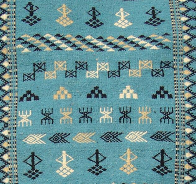 tapis berb re tunisien tapis tunisien tapis marocain mergoum et kilim tapis artisanal. Black Bedroom Furniture Sets. Home Design Ideas